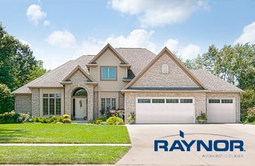 Install new garage doors - Raynor