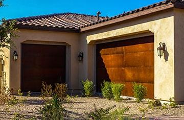 Install new garage doors - Rustic Garage Doors