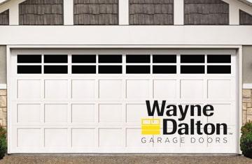 Install new garage doors - Wayne Dalton